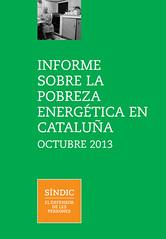 Informe sobre la pobreza energética en Cataluña octubre 2013