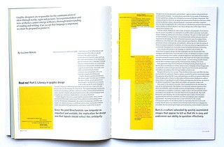 Read me! Part 1. Literacy in graphic design