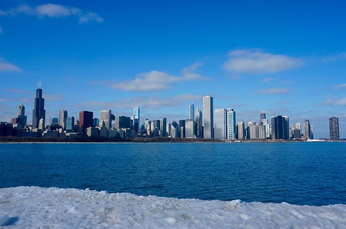winter chicago ice sunny clear pw