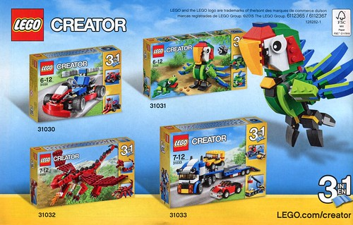 LEGO Creator 31031 Rainforest Animals ins08