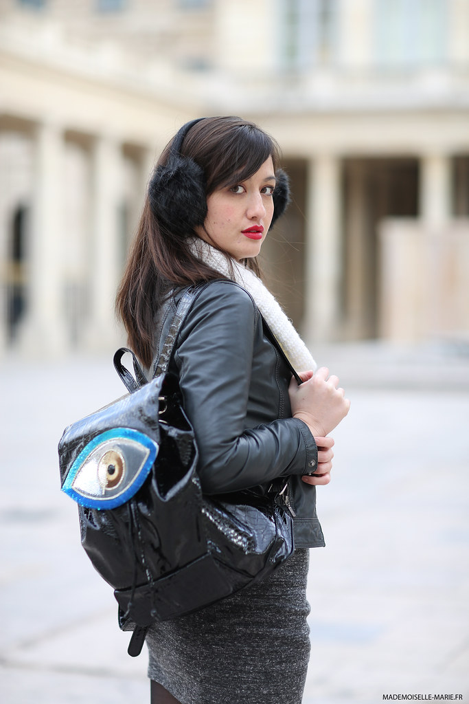 Shooting Fashion blogger - Meet me in Paree ! Street style
