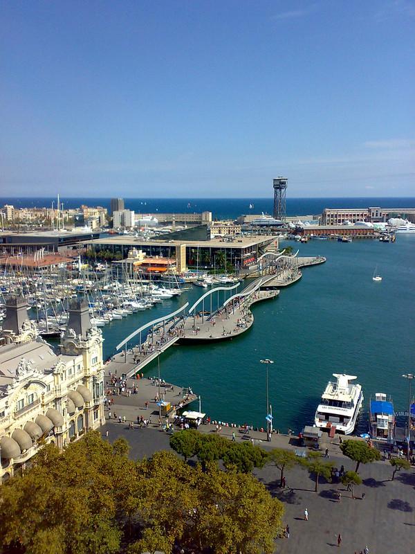Rambla del Mar, Barcelona, Espanha