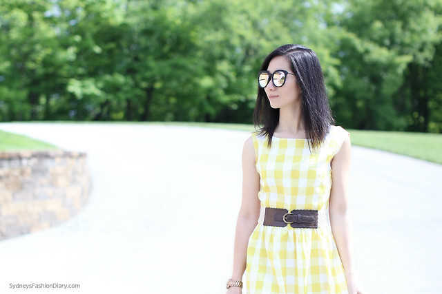 YellowGinghamDress_SydneysFashionDiary