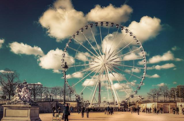Paris,Tuilleries