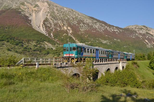 Treno per gita scolastica Sulmona