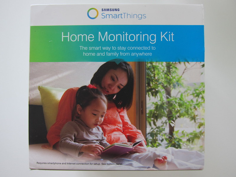 Samsung SmartThings - Home Monitoring Kit - Box Front