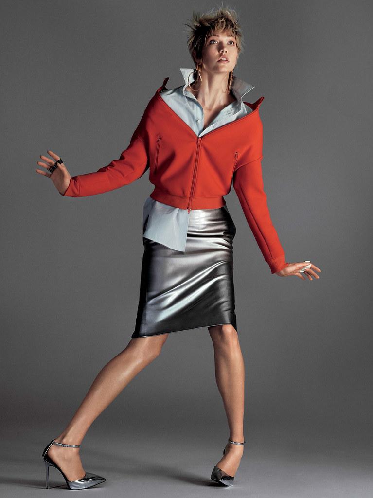 Карли Клосс — Фотосессия для «Vogue» 2016 – 8