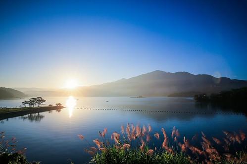 sunrise taiwan 日月潭 sunmoonlake 日出 出水口