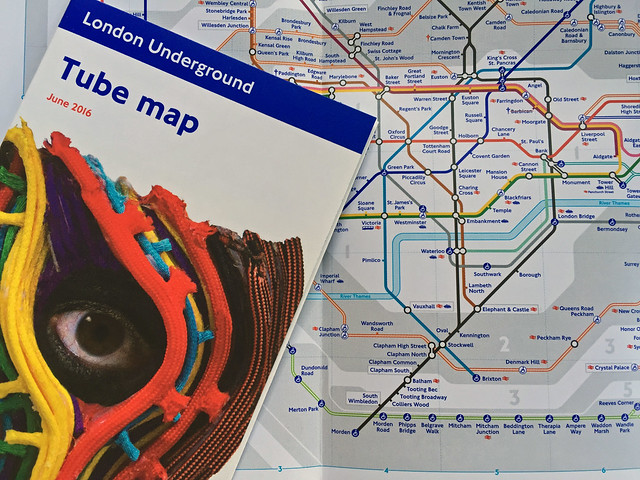 Tube map June 2016