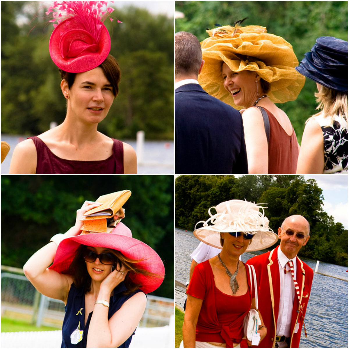 Hat collage