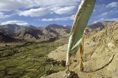 Indien, Trekkingtour in Ladakh mit Stok Kangri. Das fruchtbare Hochtal von Leh. Foto: Archiv Härter.