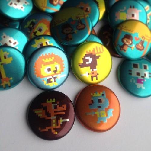 8bit TCAF buttons
