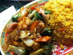 Special 3 chicken and shrimp