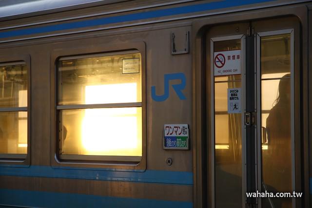 JR予讚線下灘駅