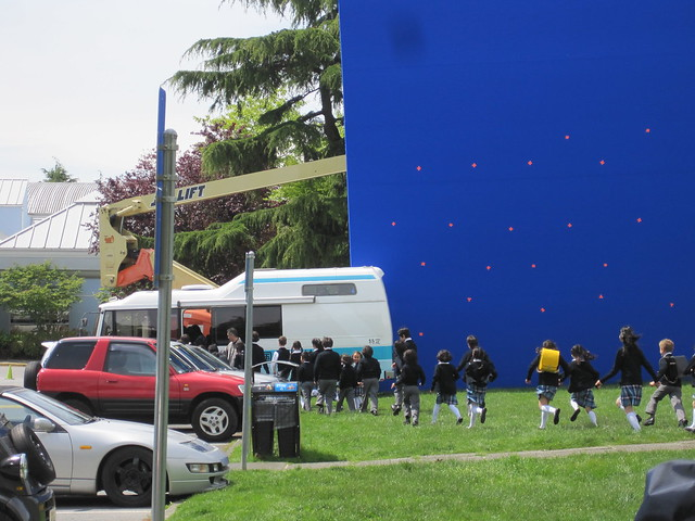 Steveston Godzilla filming May 2013 019