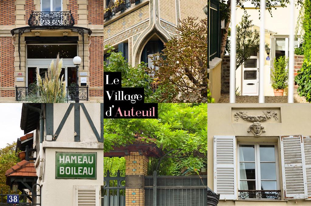 Le village d 39 auteuil et si on se promenait - Office du tourisme et des congres de paris ...