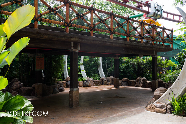 USS May Park Update - Canopy Flyer sheltered queue