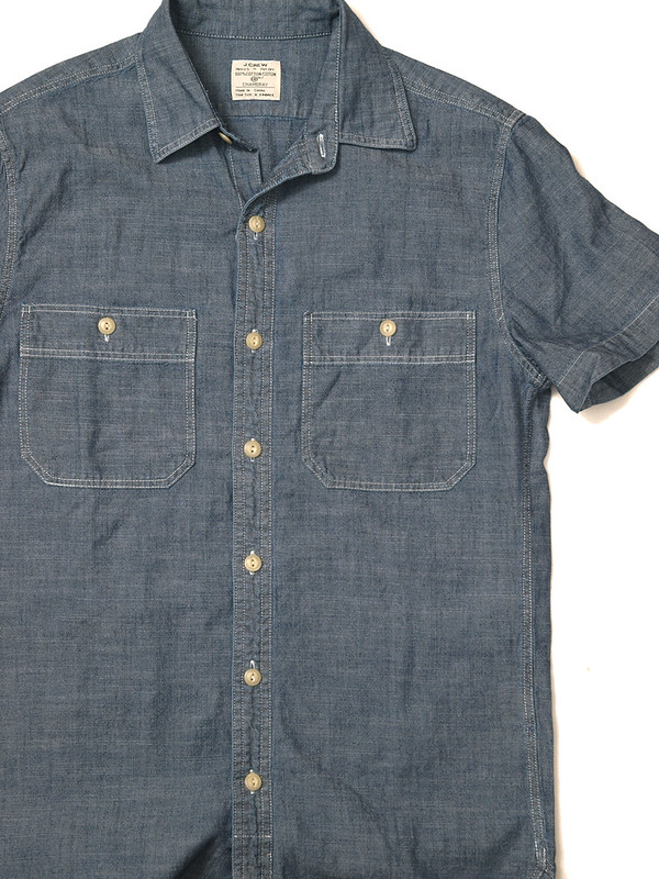 J.Crew / S/S Chambray Workshirt