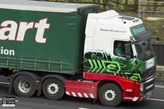 Volvo FH 6x2 Tractor - PX10 DCE - Livia Darcie - Eddie Stobart - M1 J10 Luton - Steven Gray - IMG_4777