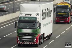 Volvo FH 6x2 Tractor - PX10 DJK - Judith Anne - Eddie Stobart - M1 J10 Luton - Steven Gray - IMG_5051