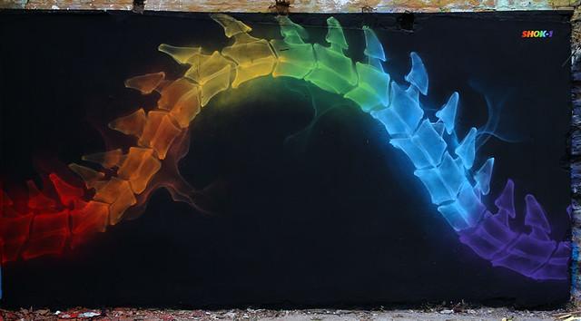 'X-Rainbow 7' by Shok Oner