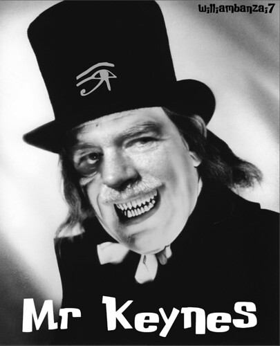 SCARY MR KEYNES by WilliamBanzai7/Colonel Flick