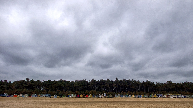 Beach Huts at Wells 2