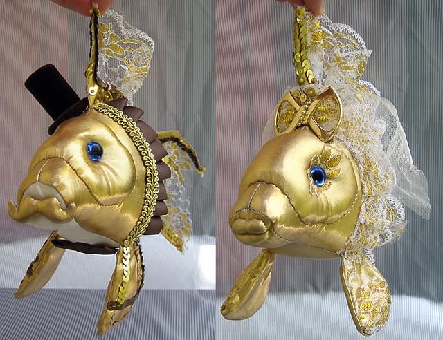 Подарок на свадьбу рыбки