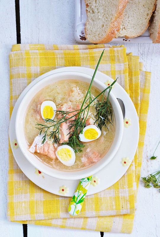 fish soup with eggs.20