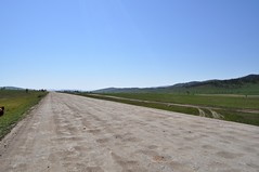 the road to Olkhon