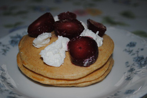 Strawberry Goat Cheese Pancakes (6)