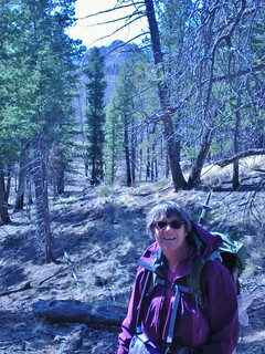 Linda Enjoying the Hike