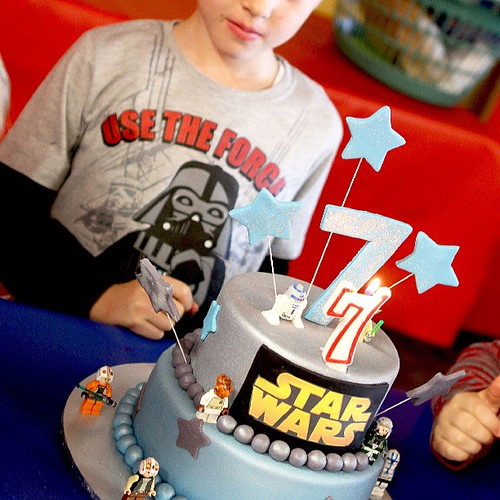 Use the Force #happybirthday #starwars #cake