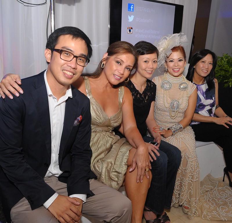 Dr. Glenn Carandang, Carol Garcia, Cinthy Tambunting Recto, Tessa Prieto Valdes, Chatty Roxas
