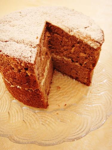 Chocolate Sponge Ingredients Of Ginger Sponge Cake Heaven On A Spoon