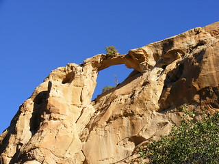 New Mexico Natural Arch NM-100 Arco Encantado (Enchanted Arch)