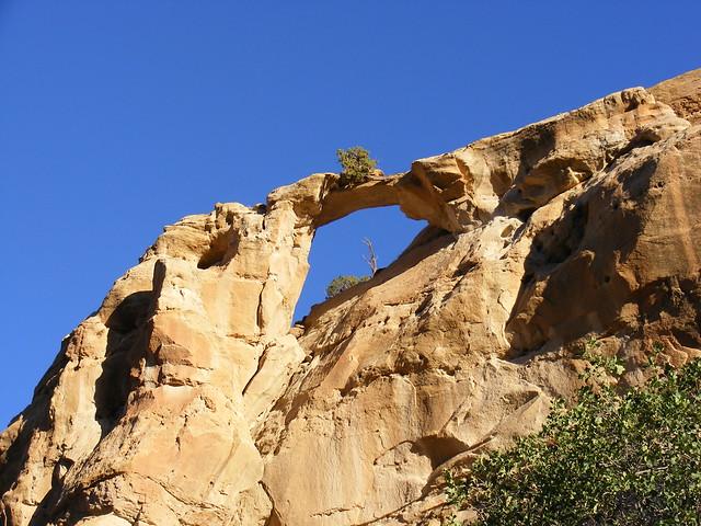 New Mexico Natural Arch NM-100 Arco Encantado (Enchanted Arch)