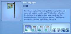 Fish Signage