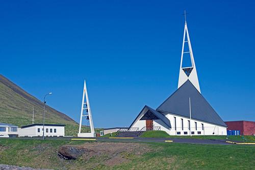 Olafsvík Triangle church (Olafsvíkurkirkja)