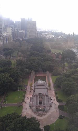 Hyde park war memorial