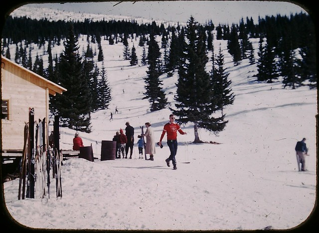 Santa Fe Ski Area late 1950's or early 60's
