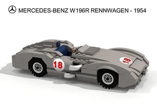 Mercedes-Benz W196R Rennwagen - 1954-55