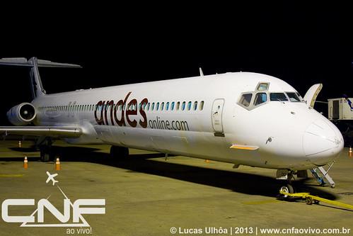 McDonnell Douglas MD-83 Andes LV-CCJ