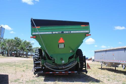 The flat tire on the grain cart strikes again.