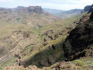 Gran Canaria - Degollada de las Yeguas in the Spring