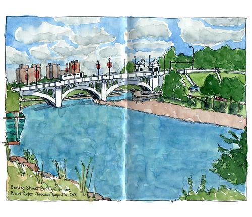 Centre street bridge by Jennifer Appel
