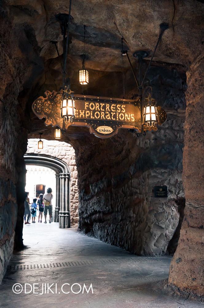 Tokyo DisneySea - Fortress Explorations Entrance