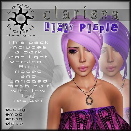[LNS Designs] Lucky Purple Clarissa