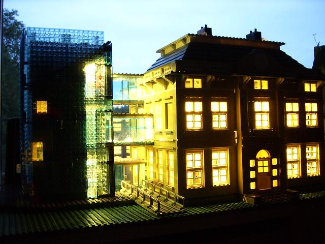 Villa Hinkeloord LEGO versie