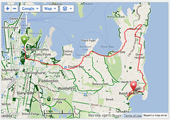 The City to Surf Route